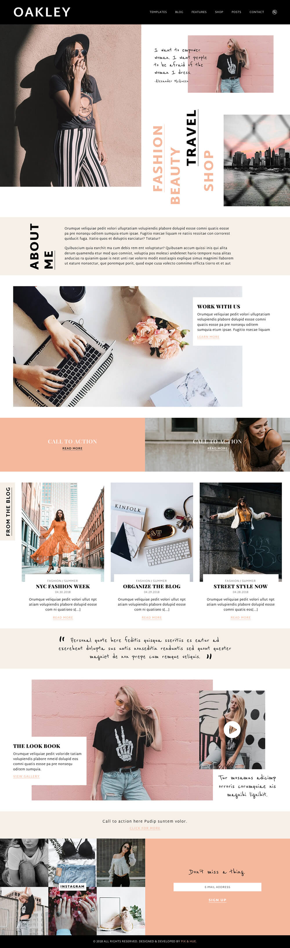 Oakley WordPress Theme